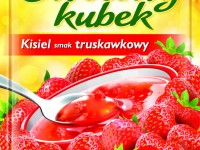 Delecta owocowy kubek truskawkowy