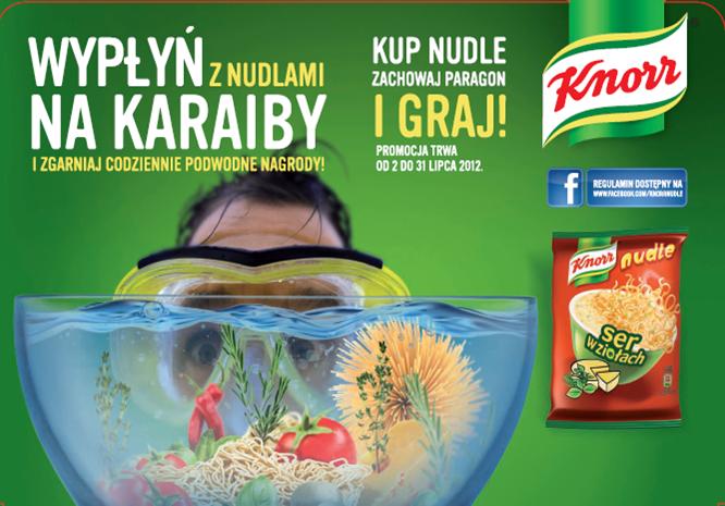 Wypłyń na Karaiby z nudlami Knorr