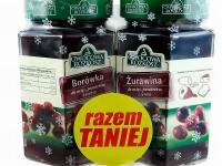 Dwupak Żurawina i Borówka