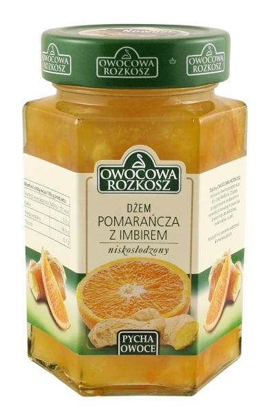 Dżem Pomarańcza z Imbirem Owocowa Rozkosz