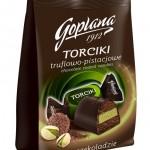 Torciki truflowo - pistacjowe Goplana