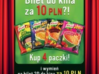 Kinowa promocja nudli Knorr