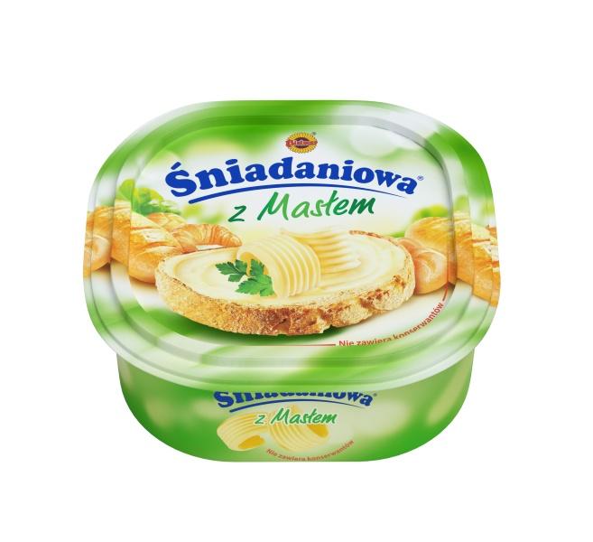 Bielmar Margaryna śniadaniowa z masłem