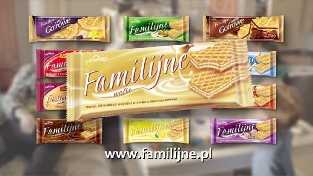 Kampania Wafle Familijne