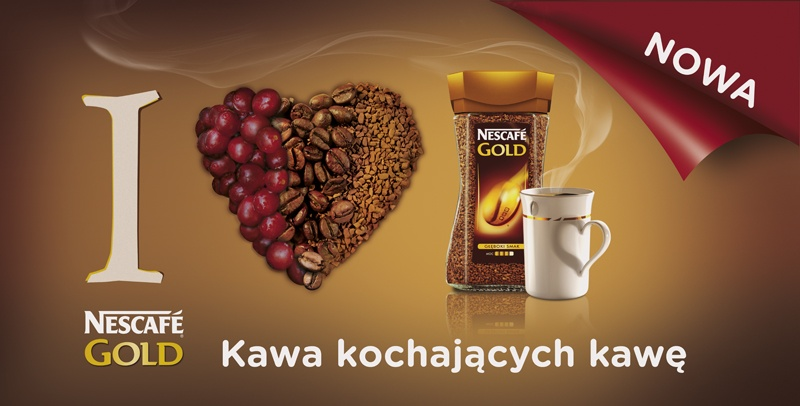 Nescafe Gold billboard