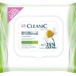 Cleanic Chusteczki do higieny intymnej z wyciągiem z rumianku opakowanie 20+5