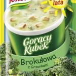 Gorący Kubek Knorr - Brokułowa z grzankami