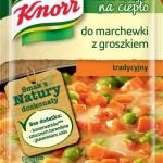 Sos do warzyw na ciepło Knorr - do marchewki z groszkiem