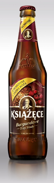 Piwo Książęce Burgundowe butelka