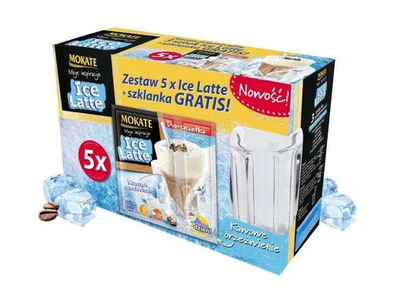Mokate Ice Latte box