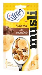 Fitella Musli Bananowe z kawalkami czekolady