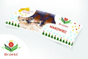 Makowiec świąteczny Brześć