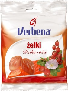 Verbena - Żelki dzika róża