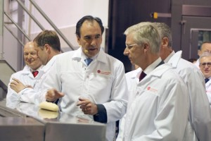 Guido Vanherpe, Prezes La Lorraine Bakery Group oraz Filip I, Król Belgów