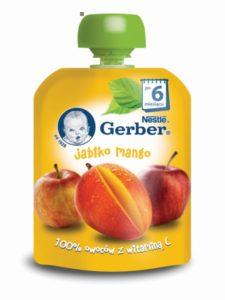 Gerber Owocowe tubki Jabłko mango