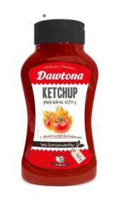 Ketchup Piekielnie Ostry Dawtona 560g