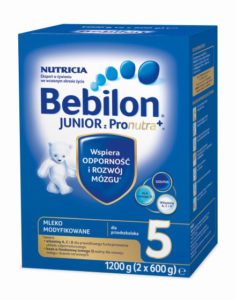 Bebilon JUNIOR 5 z Pronutra+ 1200g