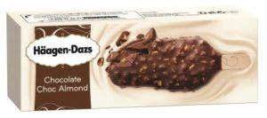 Häagen-Dazs Chocolate choc almonds ice lolly