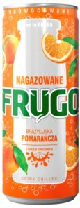 Frugo Bubble Orange 250 ml