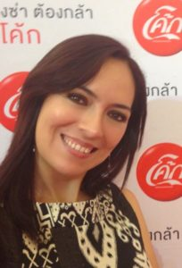 Paola Sandoval - Coca-Cola Poland