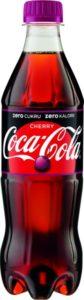 Coca-Cola Cherry Zero Cukru butelka