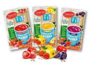 Delecta owocowy Kubek FIT mix smaków