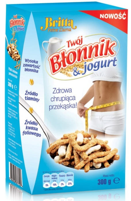 Britta Twój Błonnik 300g z jogurtem