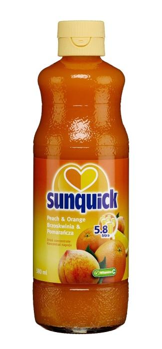 Sunquick brzoskwinia i pomarańcza