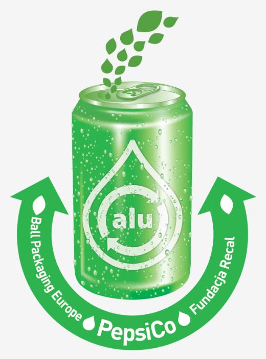Logo programu Recal PepsiCo Ball