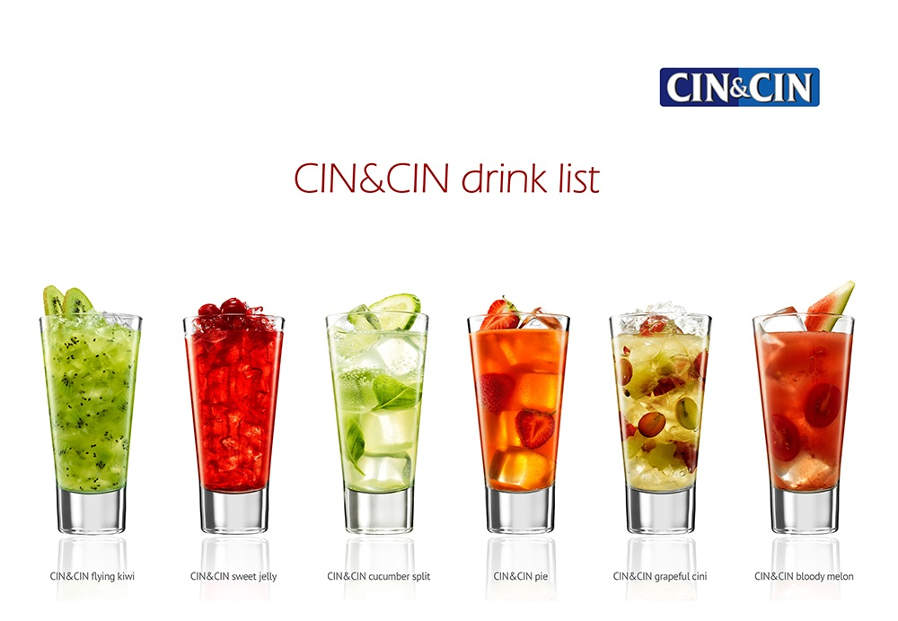 CIN&CIN drink list