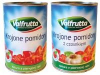 Valfrutta krojone pomidory w puszce