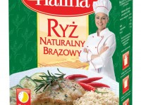 Ryż Naturalny Brązowy Halina