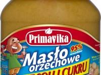 Masło orzechowe bez soli i cukru - Primavika