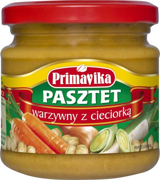 Pasztet warzywny z cieciorką - Primavika