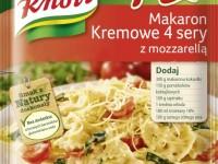 Fix Knorr Makaron Kremowe 4 sery z mozzarellą