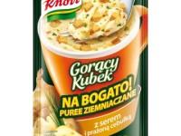 Puree ziemniaczane Gorący Kubek Knorr z serem i prażoną cebulką