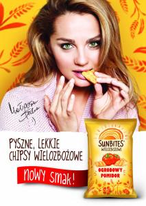 Nowy smak wielozbożowych chipsów Sunbites - Ogrodowy Pomidor