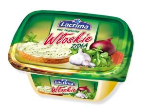 Ser topiony w kubeczku włoskie zioła Lactima