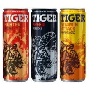 Napoje energetyczne Tiger