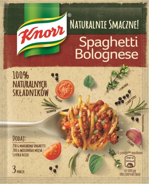 Naturalnie Smaczne Knorr - Spaghetti Bolognese