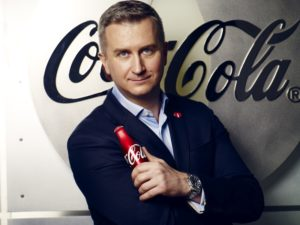 Mikołaj Ciaś - Dyrektor Marketingu w Coca-Cola Poland Services