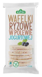 Kupiec - Wafelki ryżowe w polewie jogurtowej