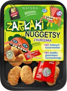 Żarłaki - nuggetsy z kurczaka