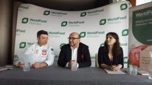 WorldFood Warsaw 2017 - konferencja prasowa