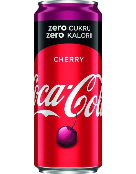 Coca-Cola Cherry Zero Cukru puszka