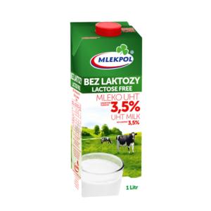MLEKPOL mleko bez laktozy 3,5%