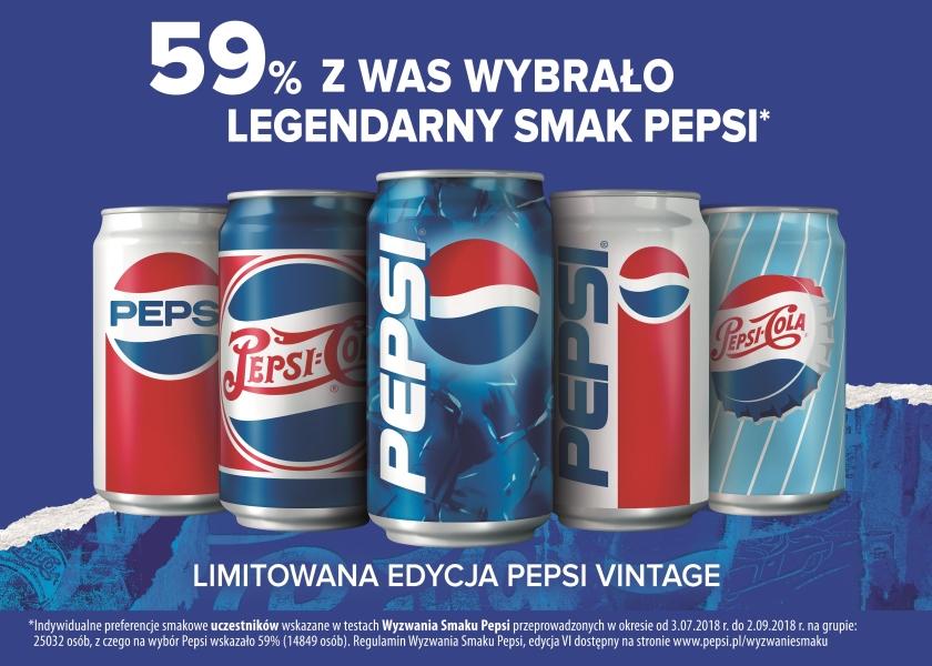 Pepsi Vintage 2018