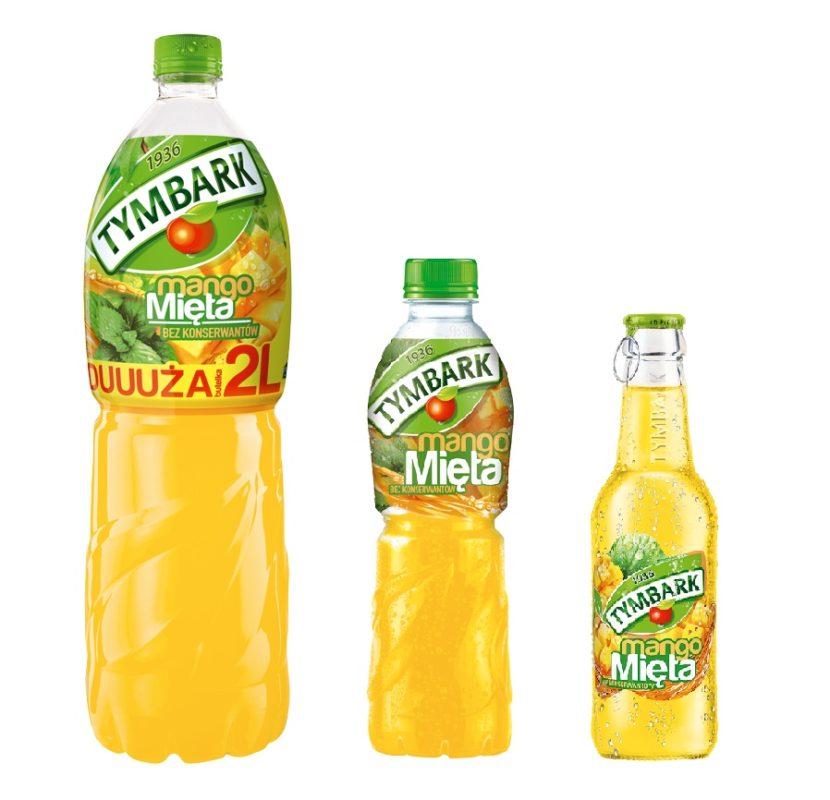 Tymbark Mango-Mięta