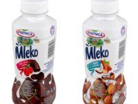 OSM Piątnica - Mleko belgijskie czekolada i malina - migdał i kokos