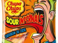 Chupa Chups Sour Inffernals cukierki do żucia 83 g